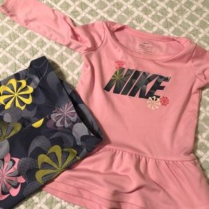 Baby Nike outfit.